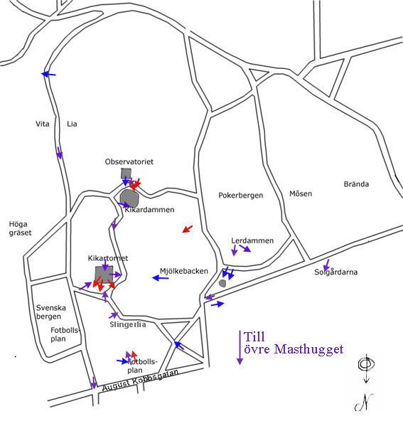 karta över slottsskogen göteborg Gamla Masthugget karta över slottsskogen göteborg